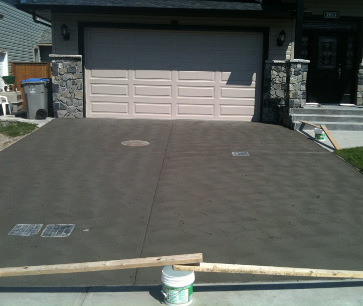 Concrete Driveways in Kamloops - Hardaker Concrete