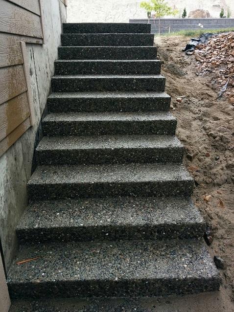 Concrete Sidewalks Amp Stairs In Kamloops Hardaker Concrete